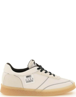 MM6 MAISON MARGIELA 6 COURT INSIDE-OUT SNEAKERS 36 White Technical