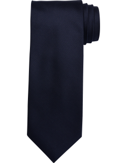 JoS. A. Bank Men's Traveler Collection Solid Tie, Navy, One