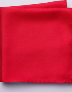 JoS. A. Bank Men's Silk Pocket Square, Red, One