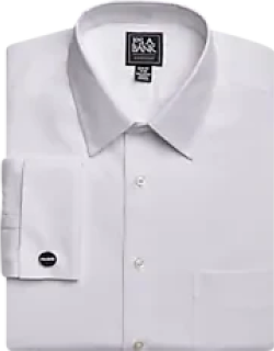 Traveler Collection Slim Fit Point Collar French Cuff Dress Shirt, by JoS. A. Bank