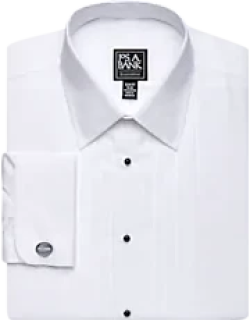 Executive Collection Slim Fit Point Collar French Cuff Formal Dress Shirt, by JoS. A. Bank