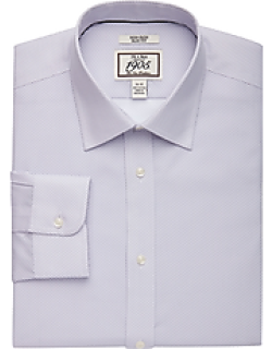1905 Collection Slim Fit Spread Collar Geometric Print Dress Shirt CLEARANCE, by JoS. A. Bank