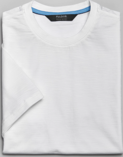 JoS. A. Bank Men's Traveler Collection Tailored Fit Crew Neck T-Shirt - Big & Tall, White, 2 X Big
