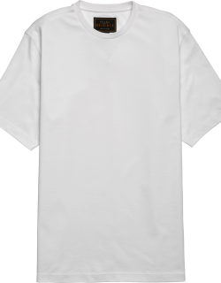 JoS. A. Bank Men's Reserve Collection Traditional Fit Pima Cotton Crew Neck T-Shirt, White, Medium