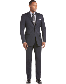 JoS. A. Bank Men's Reserve Collection Tailored Fit Suit Separate Jacket - Big & Tall Clearance, Navy, 54 Long