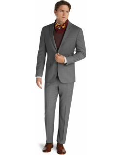 JoS. A. Bank Men's 1905 Collection Slim Fit Suit Separate Jacket - Big & Tall Clearance, Grey, 50 Regular