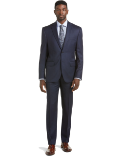 JoS. A. Bank Men's Signature Collection Traditional Fit Suit Separate Jacket - Big & Tall Clearance, Bright Navy, 56 Long