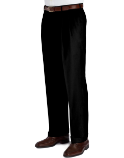 JoS. A. Bank Men's Signature Collection Traditional Fit Pleated Front Suit Separates Dress Pants - Big & Tall Clearance, Dark Grey, 44 Short