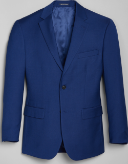 JoS. A. Bank Men's 1905 Navy Collection Traditional Fit Suit Separates Jacket - Big & Tall, Bright Blue, 50 Regular
