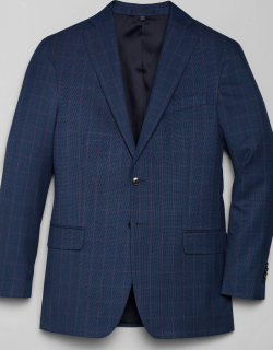 JoS. A. Bank Men's 1905 Navy Collection Tailored Fit Sportcoat - Big & Tall, Blue, 48 Regular