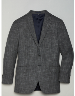 JoS. A. Bank Men's 1905 Navy Collection Tailored Fit Sportcoat - Big & Tall, Grey, 48 Regular