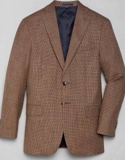 JoS. A. Bank Men's 1905 Navy Collection Tailored Fit Sportcoat - Big & Tall, Tan, 48 Regular