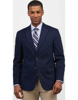 JoS. A. Bank Men's 1905 Collection Tailored Fit Sportcoat Clearance, Navy, 43 Regular