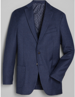JoS. A. Bank Men's 1905 Collection Tailored Fit Sportcoat Clearance, Blue, 43 Regular