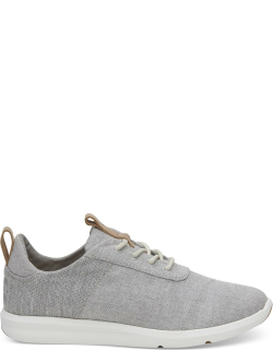 TOMS Drizzle Grey Chambray Mix Women's Cabrillo Sneakers