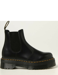 Dr. Martens Chelsea boots in shiny leather