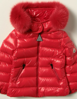 Moncler down jacket in playful nylon