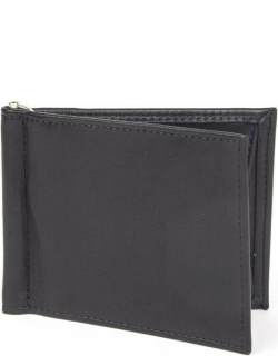 Dents Handmade Heritage Soft Lambskin Leather Wallet With Money Clip In Black