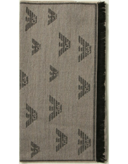 Emporio Armani scarf in wool blend