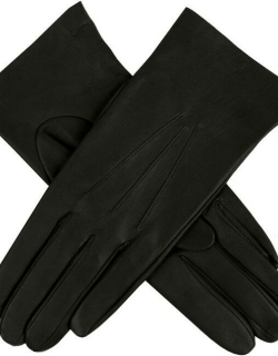 Dents Women's Unlined Hairsheep Leather Gloves In Black