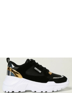 Versace Jeans Couture trainers in leather