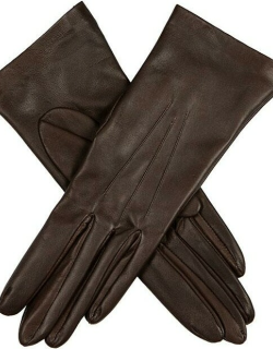 Dents Women's Unlined Hairsheep Leather Gloves In Mocca