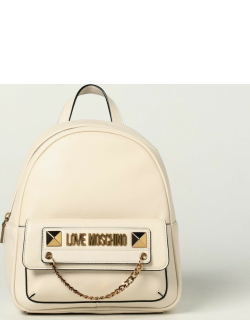 Backpack LOVE MOSCHINO Women colour Ivory