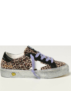 May Golden Goose trainers in animalier suede