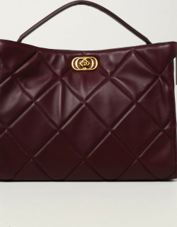 La Carrie handbag in quilted leather