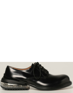Maison Margiela derby shoes in leather with air heel