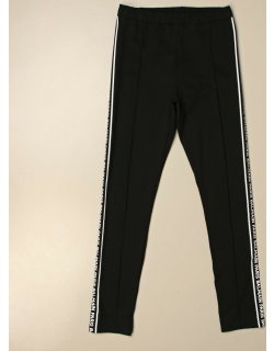 Balmain leggings in stretch cotton with bands