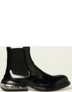 Maison Margiela ankle boots in brushed leather with air heel