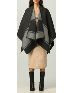 Fendi cape in wool and cashmere