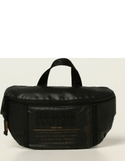 Versace Jeans Couture belt bag in coated canvas