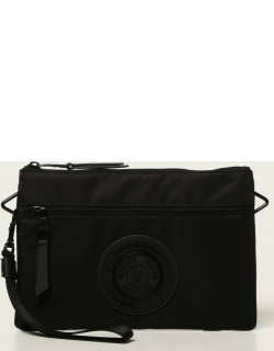 Versace Jeans Couture clutch bag with logo