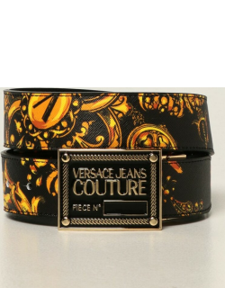 Versace Jeans Couture belt in saffiano leather