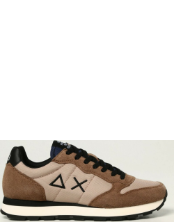 Sun 68 trainers in suede and nylon