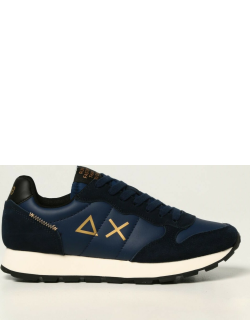 Sun 68 trainers in suede and synthetic leather