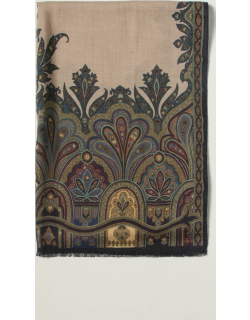 Etro scarf in cashmere and paisley silk