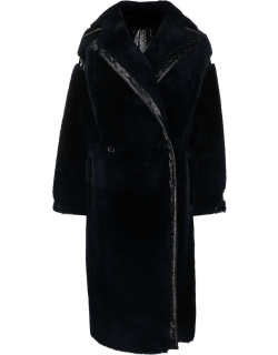 Max Mara leather trimmed over