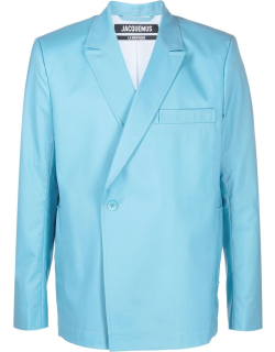 Jacquemus double-breasted virgin wool blazer
