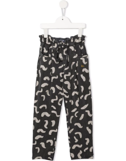 Bobo Choses beans-print straight trousers