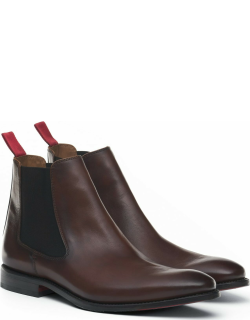 Discover Men's Chelsea Boot (color: Chocolate Leather,