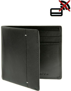 Dents Soft Leather Wallet With Rfid Blocking Protection In Black/dove