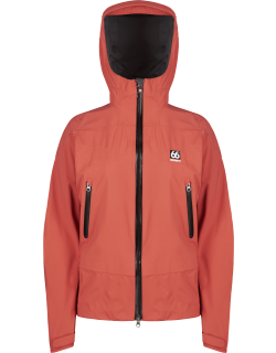 66 North women's Snæfell Jackets & Coats - Red Sand - L