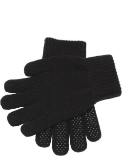 Dents Unisex Knitted Riding Gloves In Black
