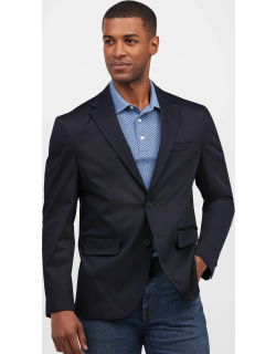 JoS. A. Bank Men's Travel Tech Tailored Fit Soft Jacket - Big & Tall, Navy, XX Large