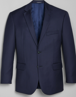 JoS. A. Bank Men's 1905 Navy Collection Slim Fit Suit Separates Jacket, Bright Navy, 39 Long