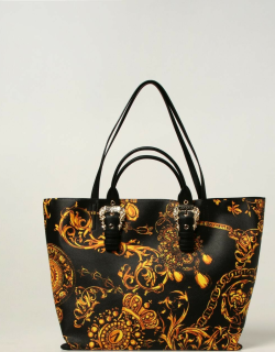 Versace Jeans Couture tote bag with Baroque print