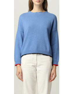 Jumper SEMICOUTURE Women colour Gnawed Blue